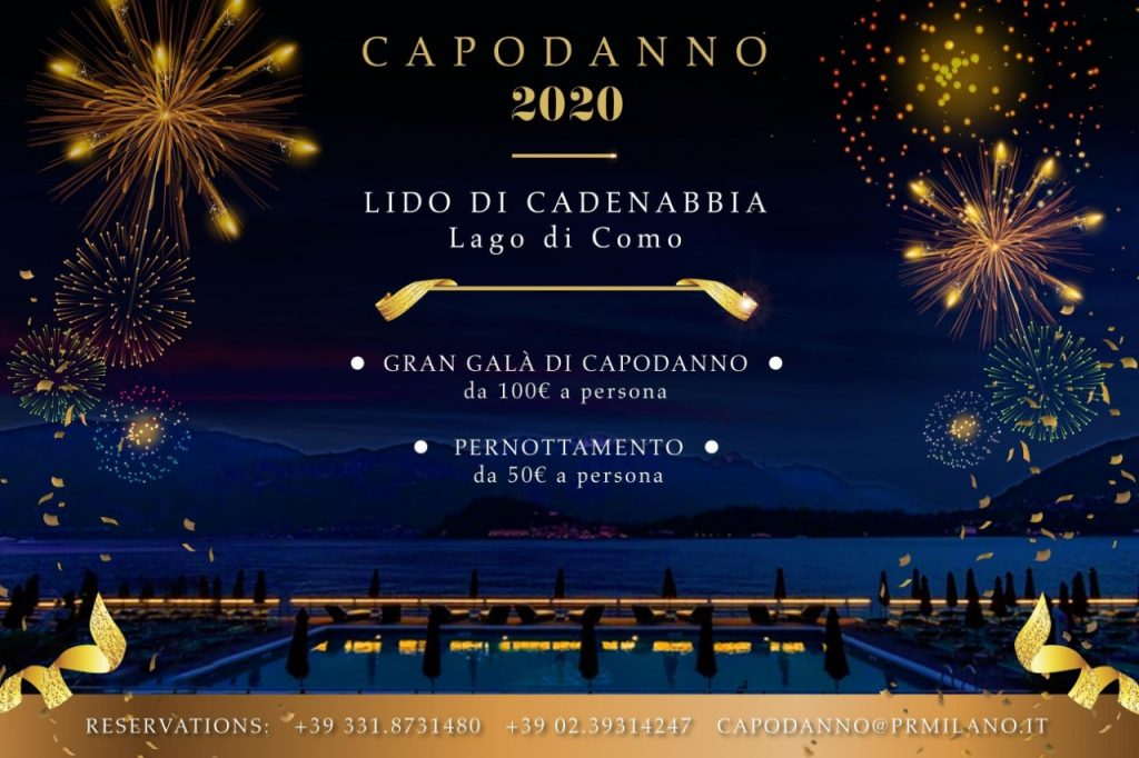 Capodanno Lido di Cadenabbia